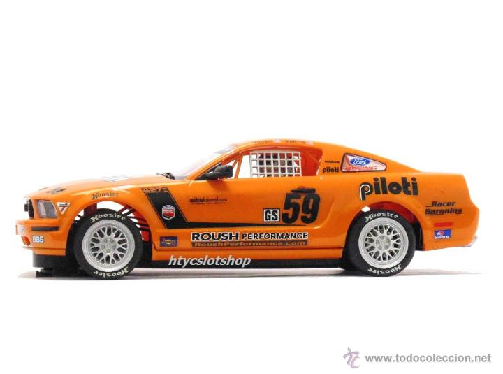 Slot Cars: SUPERSLOT MUSTANG RS500C #59 REHAGEN RACING ROUSH / MARTIN SCALEXTRIC UK H2888 - Foto 5 - 55075644