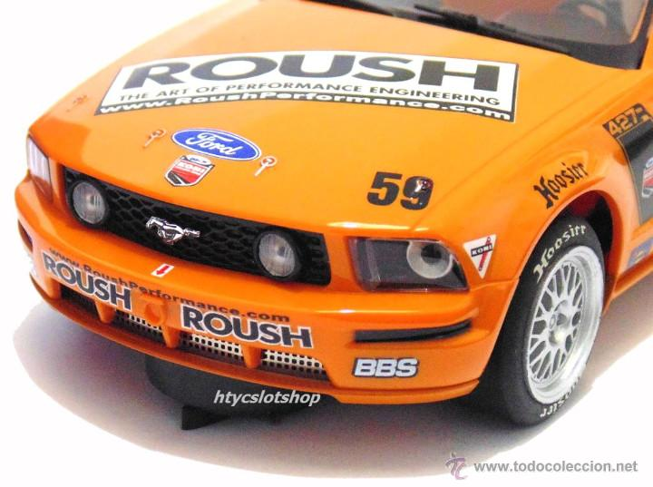 Slot Cars: SUPERSLOT MUSTANG RS500C #59 REHAGEN RACING ROUSH / MARTIN SCALEXTRIC UK H2888 - Foto 7 - 55075644