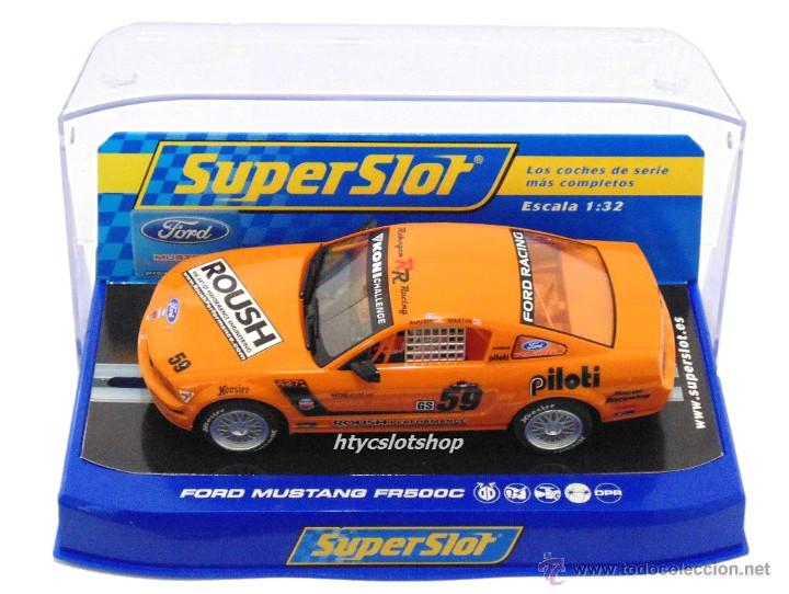 Slot Cars: SUPERSLOT MUSTANG RS500C #59 REHAGEN RACING ROUSH / MARTIN SCALEXTRIC UK H2888 - Foto 10 - 55075644