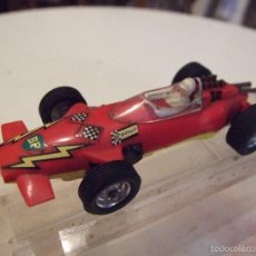 Slot Cars: COCHE PARA PISTA PLAYCRAFT - FORMULA 1 LOTUS - MADE IN FRANCE. Lote 55191227