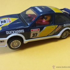 Slot Cars: FORD SIERRA DUCKHAMS #32 HORNBY / SCALEXTRIC - 10. Lote 55326031