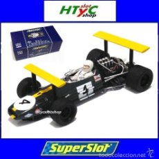 Slot Cars: SUPERSLOT LEGENDS BRABHAM BT26A-3 #4 JACKIE ICKX GP ESPAÑA 1969 SCALEXTRIC UK H3702A. Lote 90041647