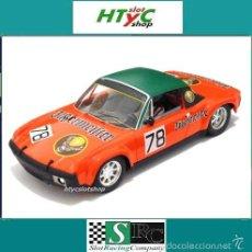 Slot Cars: SRC PORSCHE 914/6 #78 JAGERMEISTER 1000 KM NURBURGRING 1972 SCHIMPF / KOOB OSC 01610. Lote 107483478
