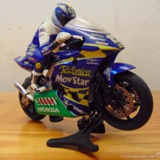 Slot Cars: MOTO SUPERSLOT HONDA SETE GIBERNAU MOVISTAR. Lote 56805493
