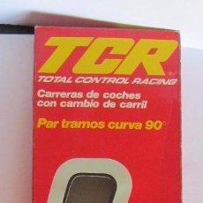 Slot Cars: TCR PAR TRAMOS CURVA 90º, REF 7005, EN CAJA. CC. Lote 57447567