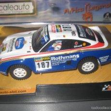 Slot Cars: OFERTA - PORSCHE 959 DAKAR 1986 ROTHMANS DE SCALEAUTO. Lote 153658117