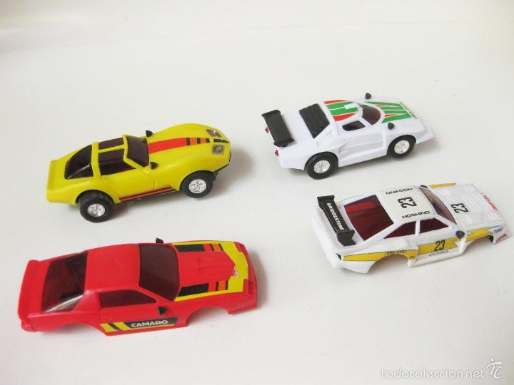COCHES DE PISTA DE SCALEXTRIC CON CARROCERIAS - LANCIA (Juguetes - Slot Cars - Magic Cars y Otros)