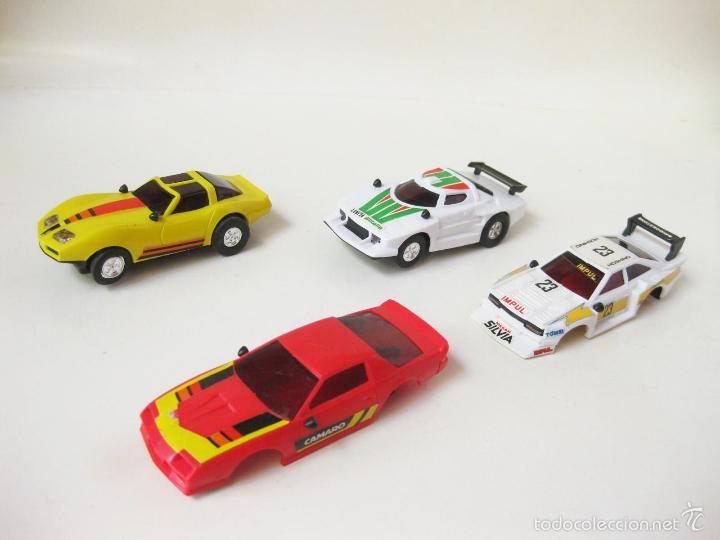 Slot Cars: COCHES DE PISTA DE SCALEXTRIC CON CARROCERIAS - LANCIA - Foto 2 - 58190856