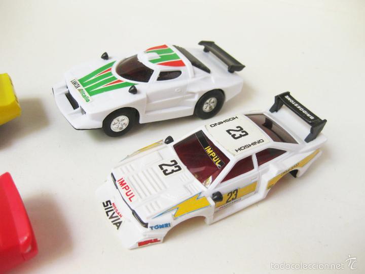 Slot Cars: COCHES DE PISTA DE SCALEXTRIC CON CARROCERIAS - LANCIA - Foto 3 - 58190856