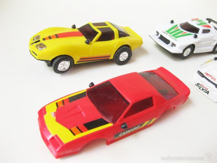 Slot Cars: COCHES DE PISTA DE SCALEXTRIC CON CARROCERIAS - LANCIA - Foto 4 - 58190856