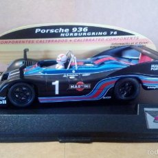Slot Cars: SPIRIT PORSCHE 936 #1 MARTINI SCX SCALEXTRIC NINCO EXIN SLOT.IT NSR SCALEAUTO. Lote 58491145