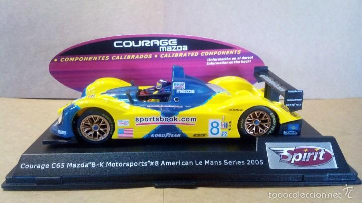 SPIRIT COURAGE C65 MAZDA MOTOR SXXX/S3X SCX SCALEXTRIC NINCO EXIN SLOT.IT NSR RACER SCALEAUTO (Juguetes - Slot Cars - Magic Cars y Otros)