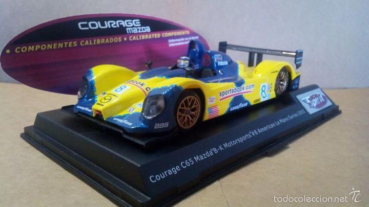 Slot Cars: Spirit Courage C65 Mazda motor Sxxx/S3X SCX Scalextric Ninco Exin Slot.it NSR Racer Scaleauto - Foto 2 - 58491291