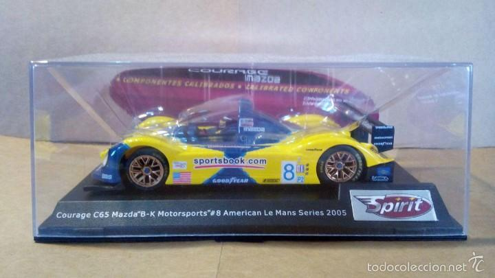 Slot Cars: Spirit Courage C65 Mazda motor Sxxx/S3X SCX Scalextric Ninco Exin Slot.it NSR Racer Scaleauto - Foto 3 - 58491291
