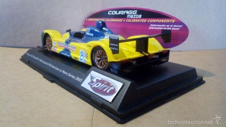 Slot Cars: Spirit Courage C65 Mazda motor Sxxx/S3X SCX Scalextric Ninco Exin Slot.it NSR Racer Scaleauto - Foto 4 - 58491291