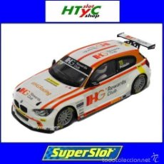 Slot Cars: SUPERSLOT BMW 125 #111 SERIE 1 BTCC 2015 ANDY PRIAULX IHG SCALEXTRIC UK H3784. Lote 61580054