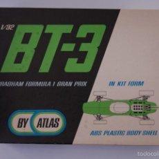 Slot Cars: KIT BRABHAM BT3 - ATLAS/MARUSAN - NUEVO!! AÑO 1965. Lote 60589267