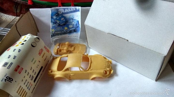 Slot Cars: MINI REPLICAS ALPINE A-110 MONTECARLO´73 RESINA REF. KC007 - Foto 1 - 134168054