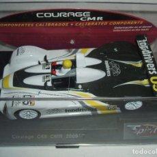 Slot Cars: COURAGE C65 CMR TOP DRIVERS SLOT 2009 DE SPIRIT. Lote 61632932