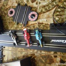 Slot Cars: SCALEXTRIC CARRERA GOO CON TRES COCHES FORMULA 1 FUNCIONANDO , VERRR. Lote 61741772