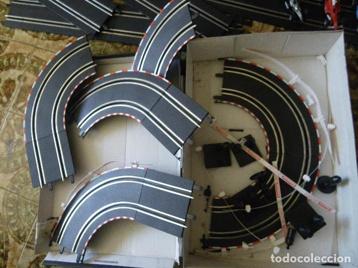 Slot Cars: scalextric carrera goo con tres coches formula 1 funcionando , verrr - Foto 6 - 61741772
