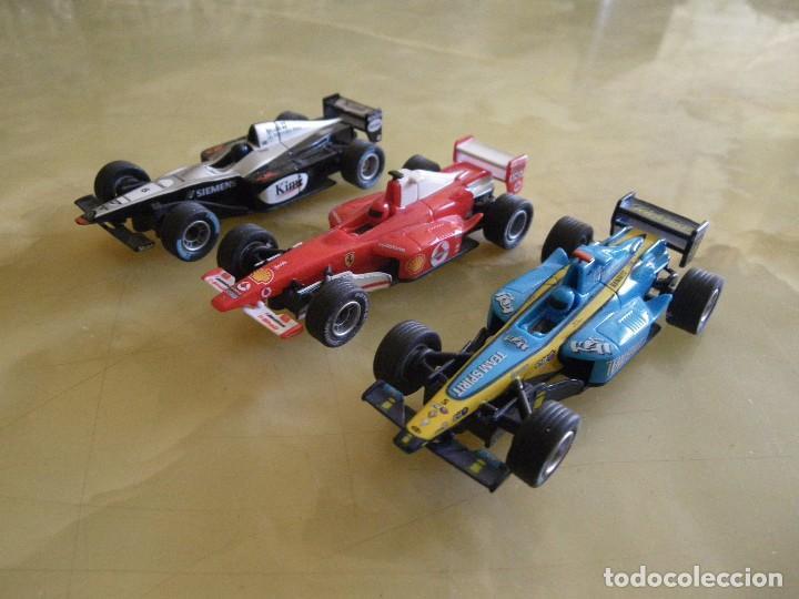 Slot Cars: scalextric carrera goo con tres coches formula 1 funcionando , verrr - Foto 8 - 61741772