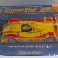 Slot Cars: COCHE SUPERSLOT PORSCHE RS SPYDER, EN CAJA. CC. Lote 61948740