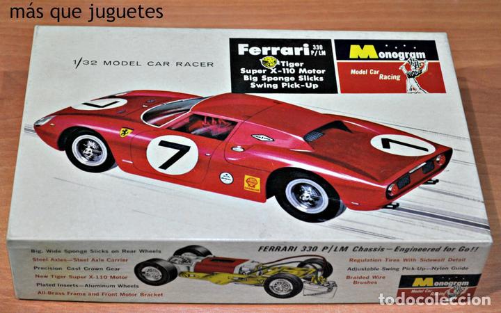 Ferrari 330 p/lm de monogram  escala 1/32  slot - Sold
