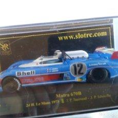 Slot Cars: SRC SLOT RACING COMPANY MATRA 670B LE MANS 73, EN URNA. FUNCIONA EN SCALEXTRIC. Lote 68772545