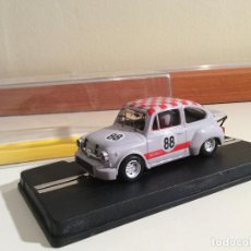 Slot Cars: FIAT ABARTH 1000 REPROTEC SCALEXTRIC. Lote 71217709