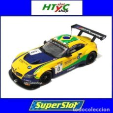 Slot Cars: SUPERSLOT BMW Z4 GT3 #0 BLANCPAIN SERIES BRANDS HATCH 2015 SCALEXTRIC UK S3721. Lote 86674088