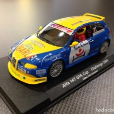 Slot Cars: FLY SLOT ESCALECTRIC. ALFA 147 GTA CUP CHALLENGE 2003 REF 88143. Lote 73548839