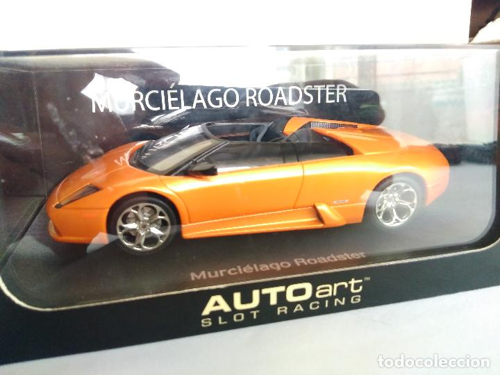 Autoart Slot Racing Lamborghini Murcielago Conc Sold Through