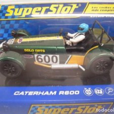 Slot Cars: SUPERSLOT CATERHAM R 600 A ESTRENAR. Lote 76012395