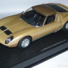Slot Cars: LAMBORGHINI MIURA AUTOART 1:32/SCALEXTRIC NUEVO EN CAJA. Lote 76559623