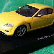 Slot Cars: MAZDA RX-8 AMARILLO DE AUTOART – COCHE DE SLOT – 1/32. Lote 77242441