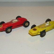 Slot Cars: FERRARI Y BRM JOUEF FABRICADOS EN ESPAÑA. Lote 77842461