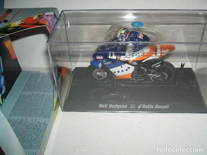 MOTO GP SUPERSLOT REF.-H6012 NEIL HODGSON DUCATI (Juguetes - Slot Cars - Magic Cars y Otros)