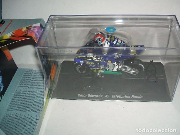 MOTO GP SUPERSLOT REF.-H6007 COLIN EDWARDS HONDA (Juguetes - Slot Cars - Magic Cars y Otros)