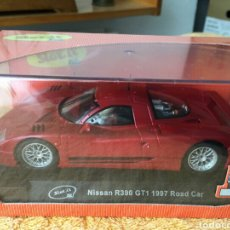 Slot Cars: SLOT.IT NISSAN R390 GTI 1997 ROAD CAR. Lote 78257518