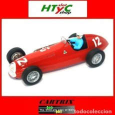 Slot Cars: CARTRIX EDICION NUMERADA ALFA ROMEO ALFETTA #12 LUIGI FAGIOLI 1950 GRAN PRIX SUIZA 0905. Lote 49424031