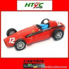 Slot Cars: CARTRIX EDICION NUMERADA FERRARI F555 SUPERSQUALO #12 6º ITALIAN GP 1955 UMBERTO MAGLIOLI 0942. Lote 80419301