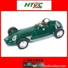 Slot Cars: CARTRIX EDIICION NUMERADA BRM F25 #8 5º MONACO GP 1958 HARRY SCHELL 0951. Lote 80420577
