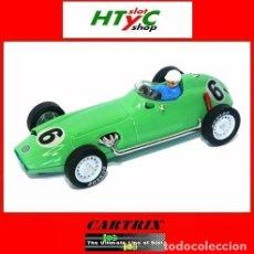 Slot Cars: CARTRIX EDIICION NUMERADA BRM F25 #6 2º MONACO GP 1959 STIRLING MOSS 0952. Lote 80420773