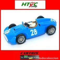 Slot Cars: CARTRIX EDIICION NUMERADA BUGATTI T251 #28 MAURICE TRINTIGNANT GP FRANCIA 1956 0964. Lote 80421129
