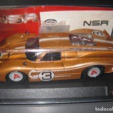 Slot Cars: FORD MKIV Nº3 DE LE MANS 1967 DE NSR. Lote 118449278