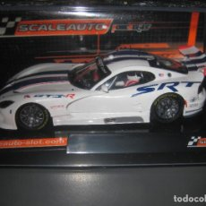 Slot Cars: BLACK FRIDAY - VIPER GTS-R OFFICIAL TEAM HOME SERIES DE SCALEAUTO. Lote 226934352