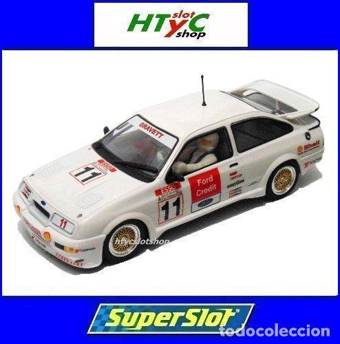SUPERSLOT FORD SIERRA RS500 #11 BRANDS HATCH BTCC 1990 JOBB GRAVETT CREDIT SCALEXTRIC H3781 (Juguetes - Slot Cars - Magic Cars y Otros)