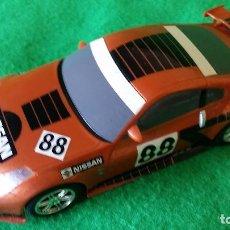 Slot Cars: NISSAN 350Z COBRE – HORNBY – GIRA 360º - RARO – DRIFT CAR. Lote 83478484