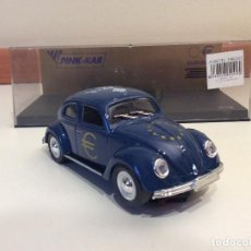 Slot Cars: VW BEETLE PINK KAR. Lote 83762624